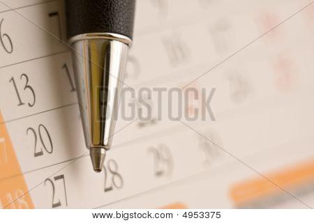 Calendar Close-up