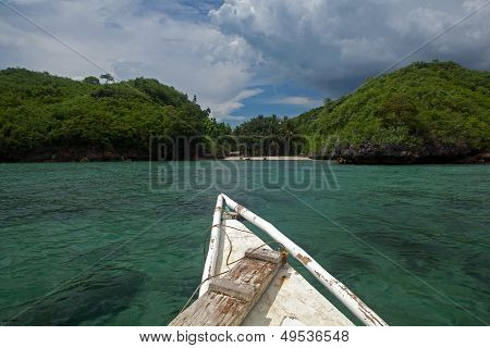 Exotic Tropical Island Boat Ride