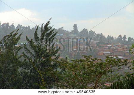 Rain Over Kigali