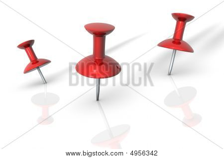 Red Thumbtack