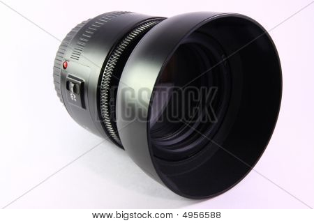 Digital Slr Camera Lens With Hood