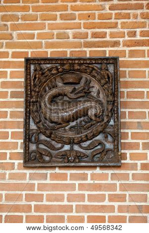 The salamander - the symbol of Francis the king of France