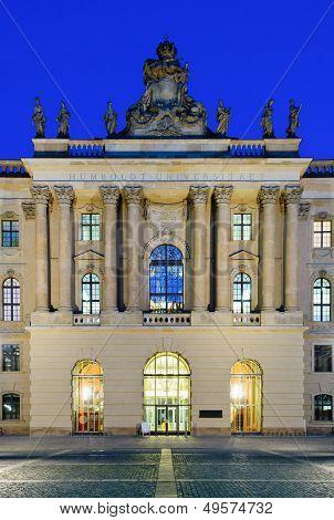 Humboldt University In Berlin, Germany