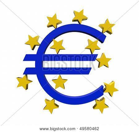 European Central Bank Symbol