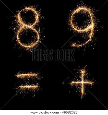 Sparkle numbers set