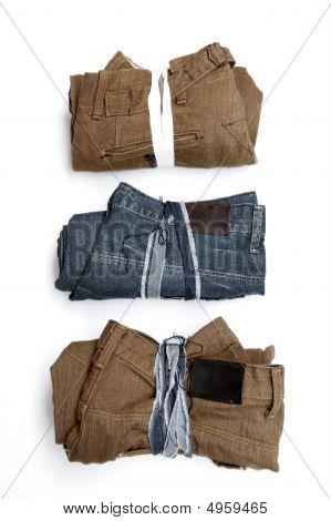 Folded Trousers