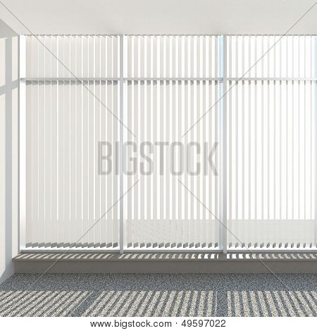 window vertical fabric blinds