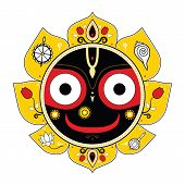 foto of krishna  - Jagannath - JPG