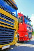 Постер, плакат: Truck Transport
