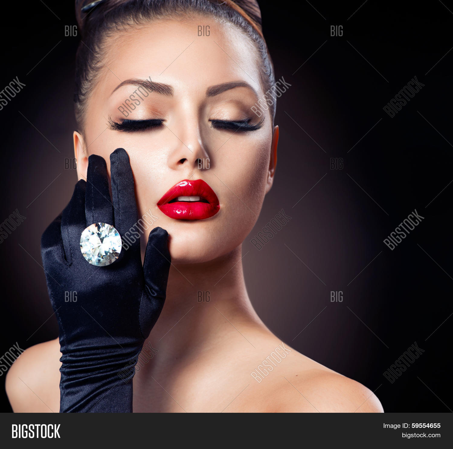 Beauty Fashion Glamour Girl Image Amp Photo Bigstock
