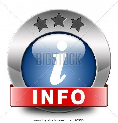 info blue icon more information sign additional info icon read more button