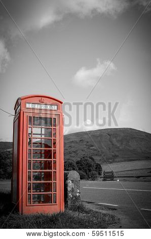 Countryside Red Phone Box