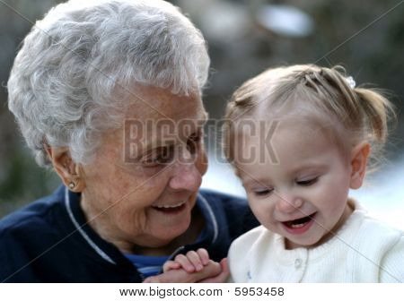 Laughing With Grandma