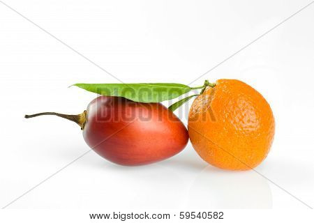 Tangerine And Tamarillo