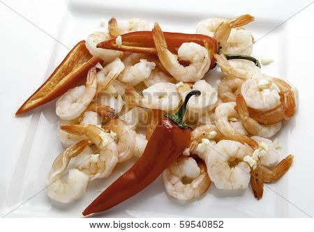 Shrimp and Hot Peppers