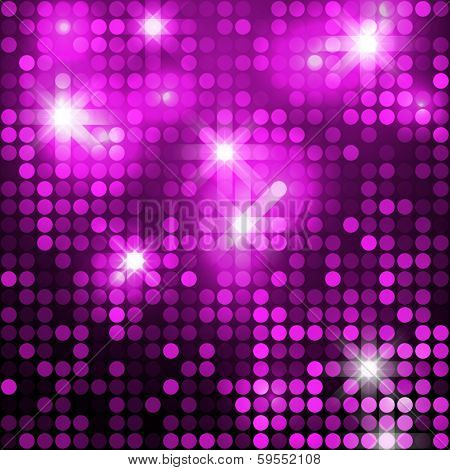 Pink seamless shimmer background with shiny silver and black paillettes. Sparkle glitter background. Glittering sequins wall.