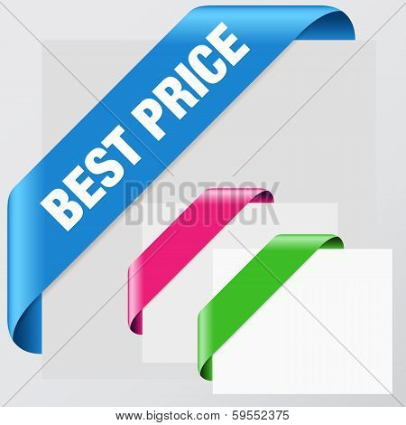 Colorful Corner Ribbon Set