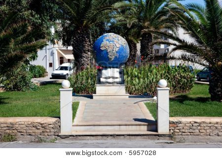 Monument In Rethymno