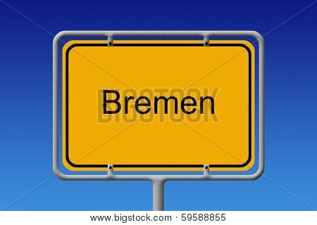 City Sign Bremen