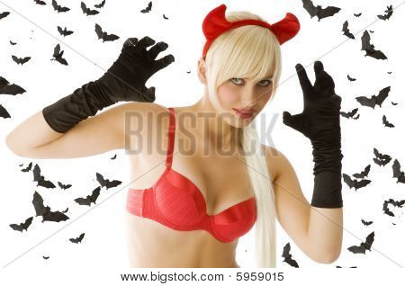 Blond Sexy Devil