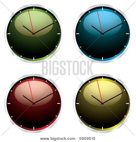Variations Modern Wall Clock