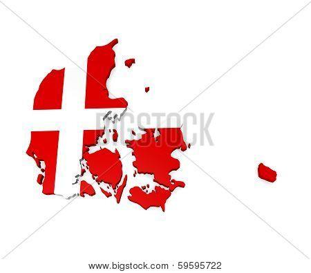 Denmark 3D Image