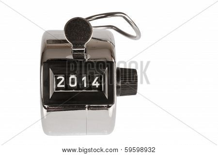 Counter With Date At 2014