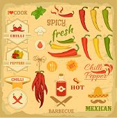 stock photo of mexican  - chilli spice - JPG