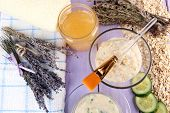 picture of sea oats  - Homemade facial masks with natural ingredients - JPG