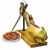 Iberian Ham And Ham Slices