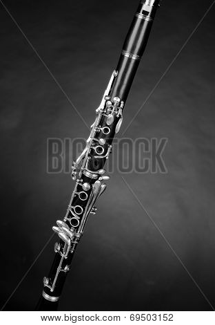 Detail Take Of A Clarinet
