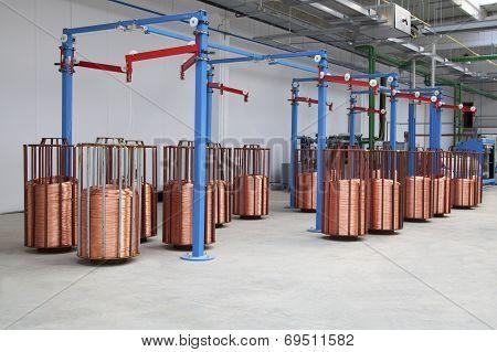 Copper Wire Spools