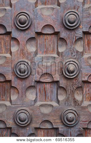 Old Wooden Door Background