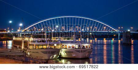 Port At Bratislava, Slovakia