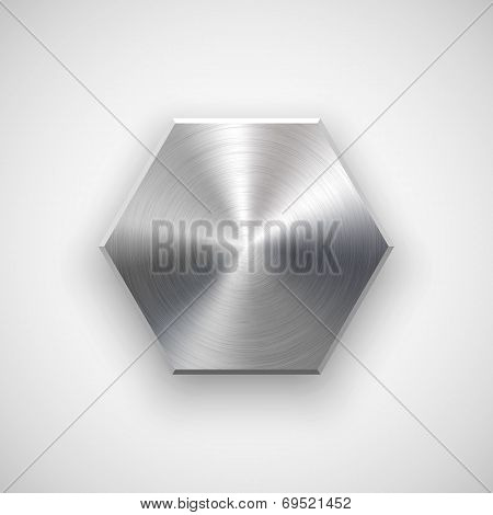 Abstract Polygon Button Template