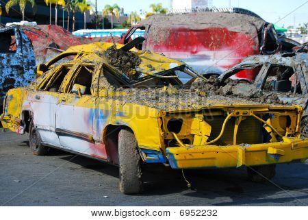smashed car 2