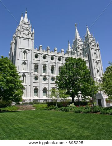 Salt Lake City Mormone-Tempel