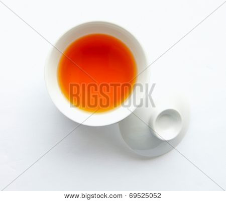 a bowl of fish sauce