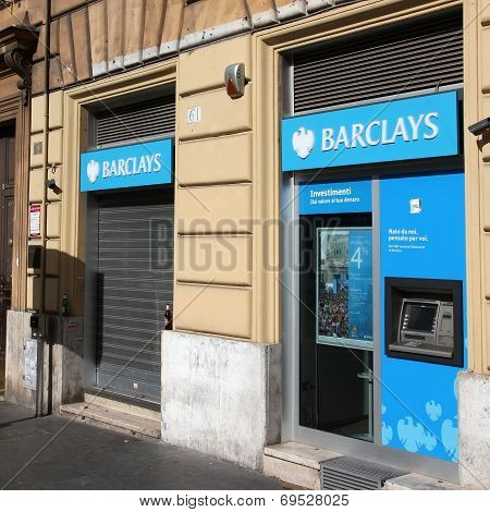 Barclays Bank In Italy