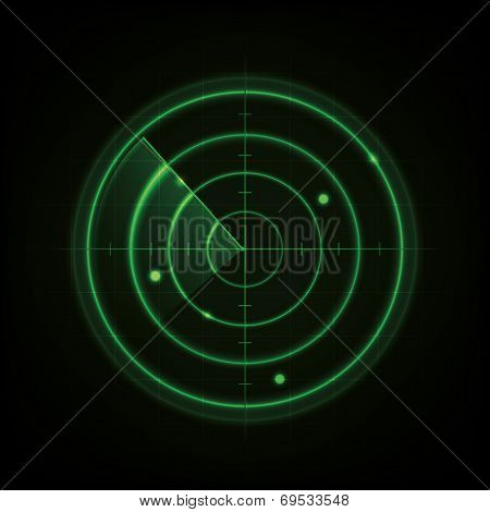 Glowing Radar Design