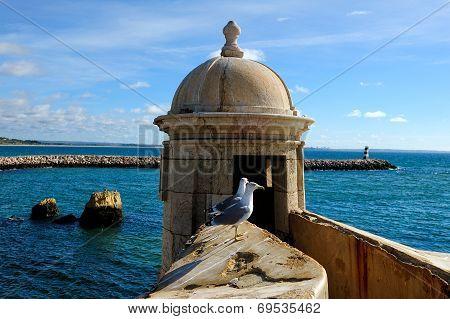 Forte Da Ponta Da Bandeira, Lagos, Portugal
