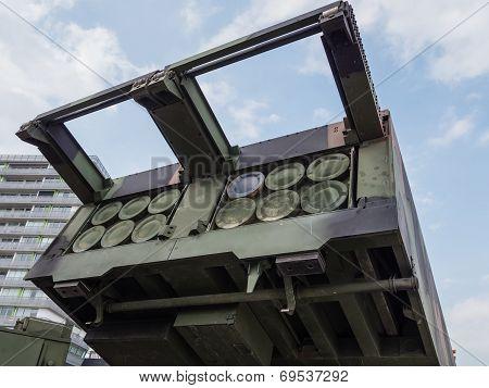 Military Mlrs Rocket Launcher