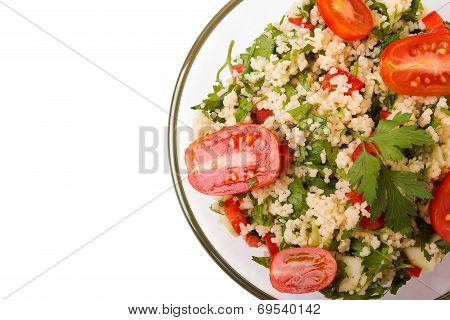 Tabbouleh With Couscous And Parsley