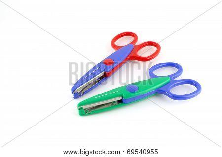 Two Color Scissors