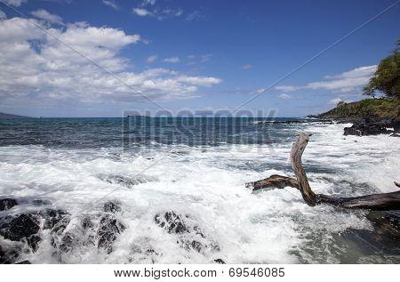 Surf, Waves, Rocks