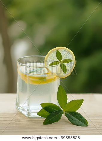 Lemonade Or Lemon Squash As Summer Beverage To Quench Your Thirst
