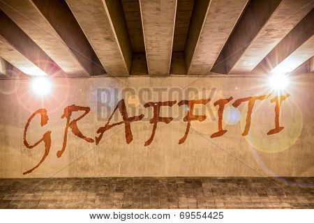Graffiti Painted As Graffiti