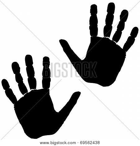 hand footprint