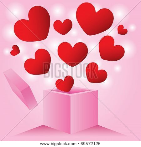 Heart From Outside Love Box