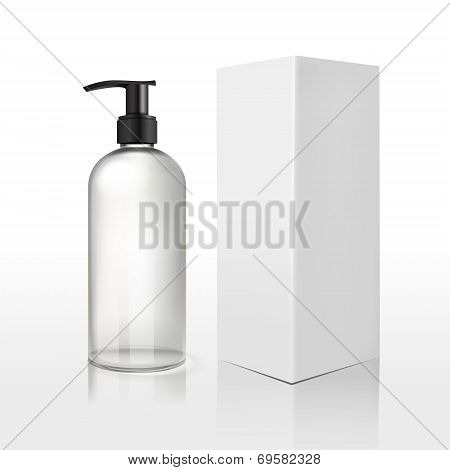 Clean Plastic Bottles Template